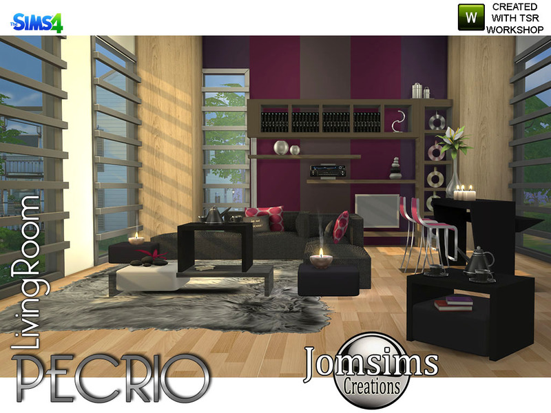 Pecrio Modern living room by jomsims