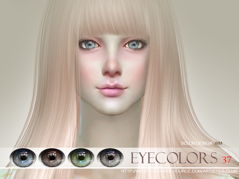S-Club WM thesims4 Eyecolor 37