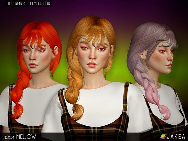 JAKEA - H004 - MELLOW (Female Hair Set)