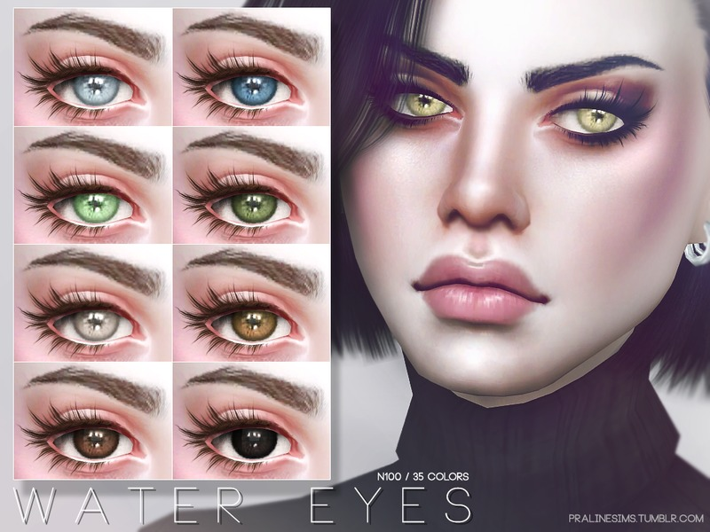 Water Eyes N100 by Pralinesims
