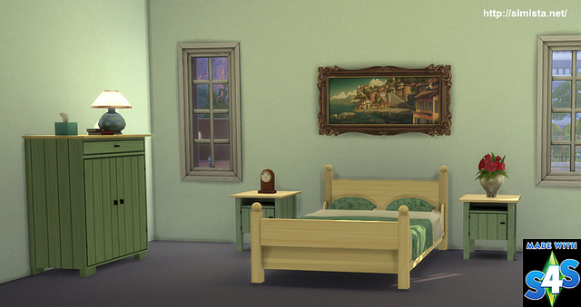 Country Cottage Bedroom Collection by Simista