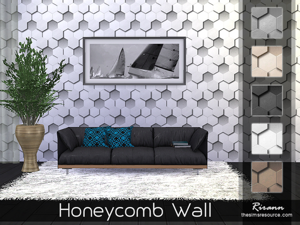 Honeycomb Wall by Rirann
