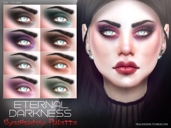 Eternal Darkness Eyeshadow N31 by Pralinesims