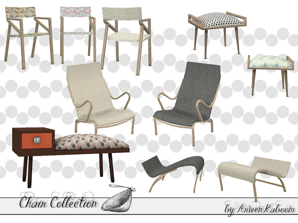 Chair Collection by ArwenKaboom