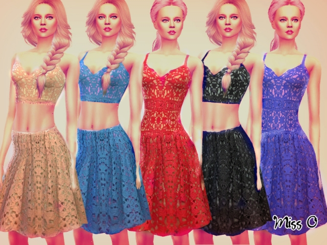 Romantic Lace Set by Mis_O