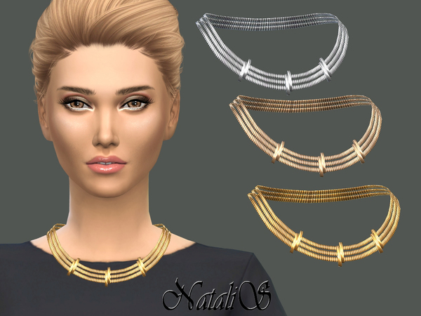 NataliS_Tiered necklace with sliders