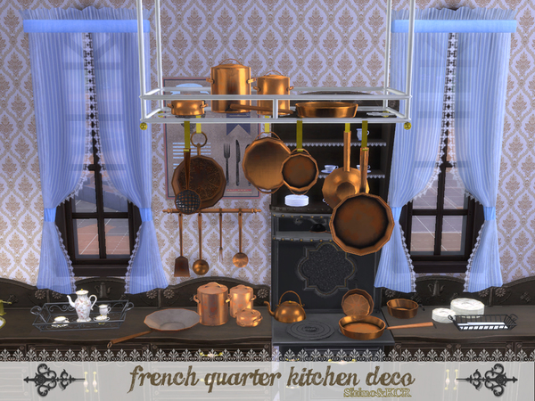 French Quarter - Kitchen Deco by ShinoKCR