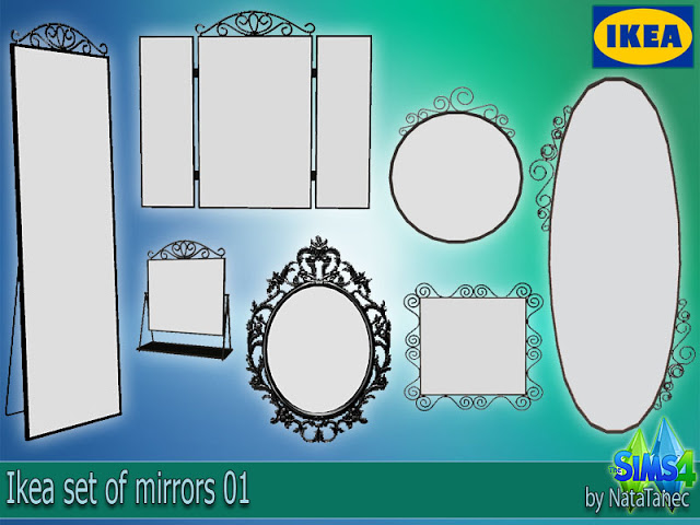IKEA Mirrors by Natatanec