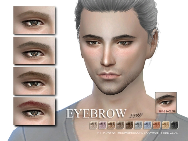 WM thesims4 Eyebrows 38M by S-Club