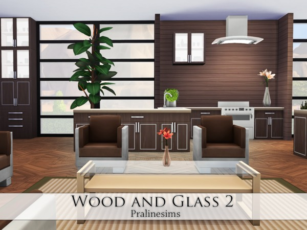Wood and Glass 2 by Pralinesims