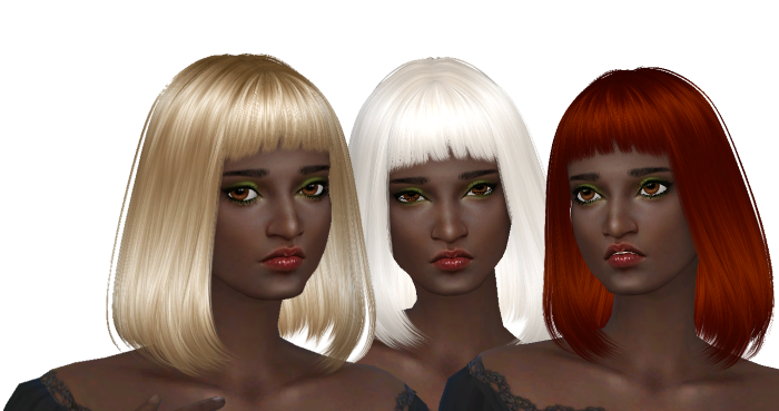 Sweet Escape Hair Recolors by Dachs
