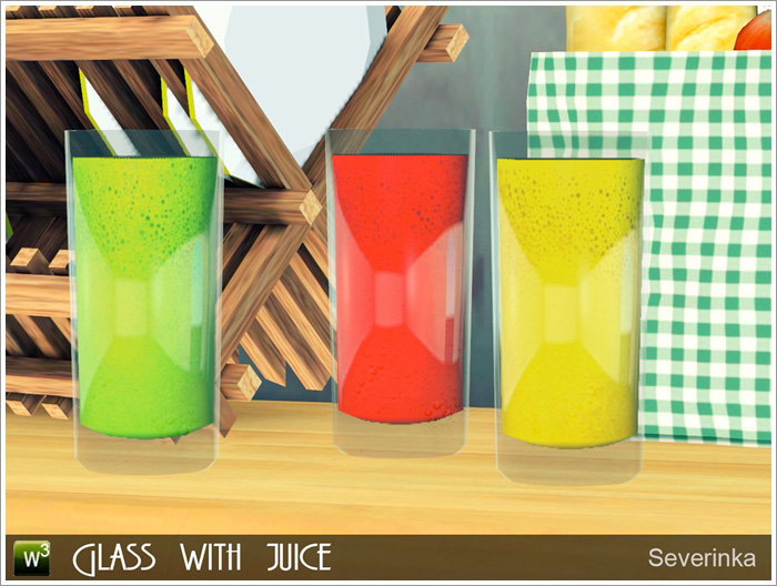 Glass with juice от Severinka