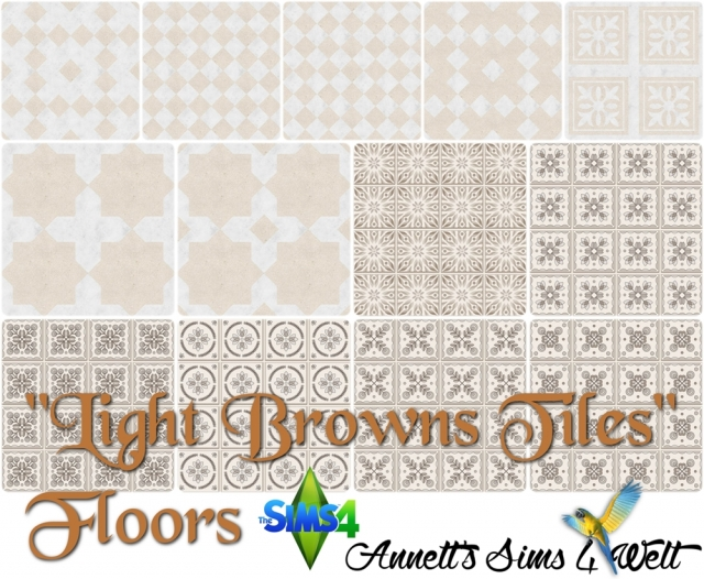 Floors Light Browns Tiles by Annett85