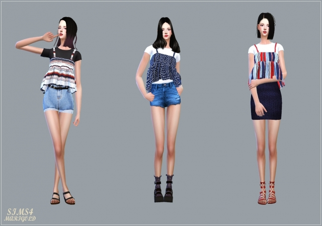 Summer Flare Sleeveless With Tee by Marigold
