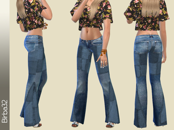 Hippie jeans Patches by Birba32