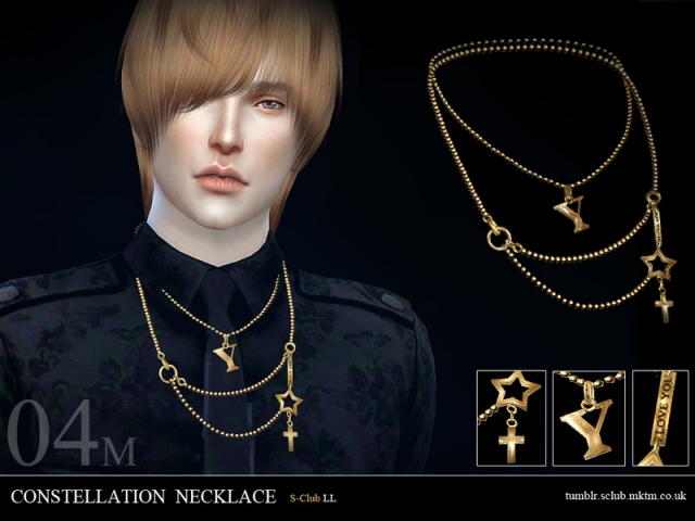 LL ts4 necklace M04 by S-Club