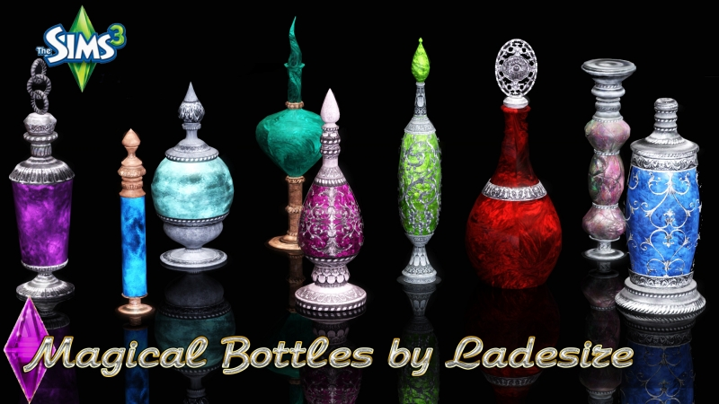 Magical Bottles by Ladesire
