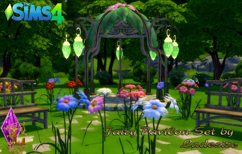 Fairy Pavilon Set by Ladesire