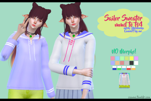 Sailor Sweaters by Zauma