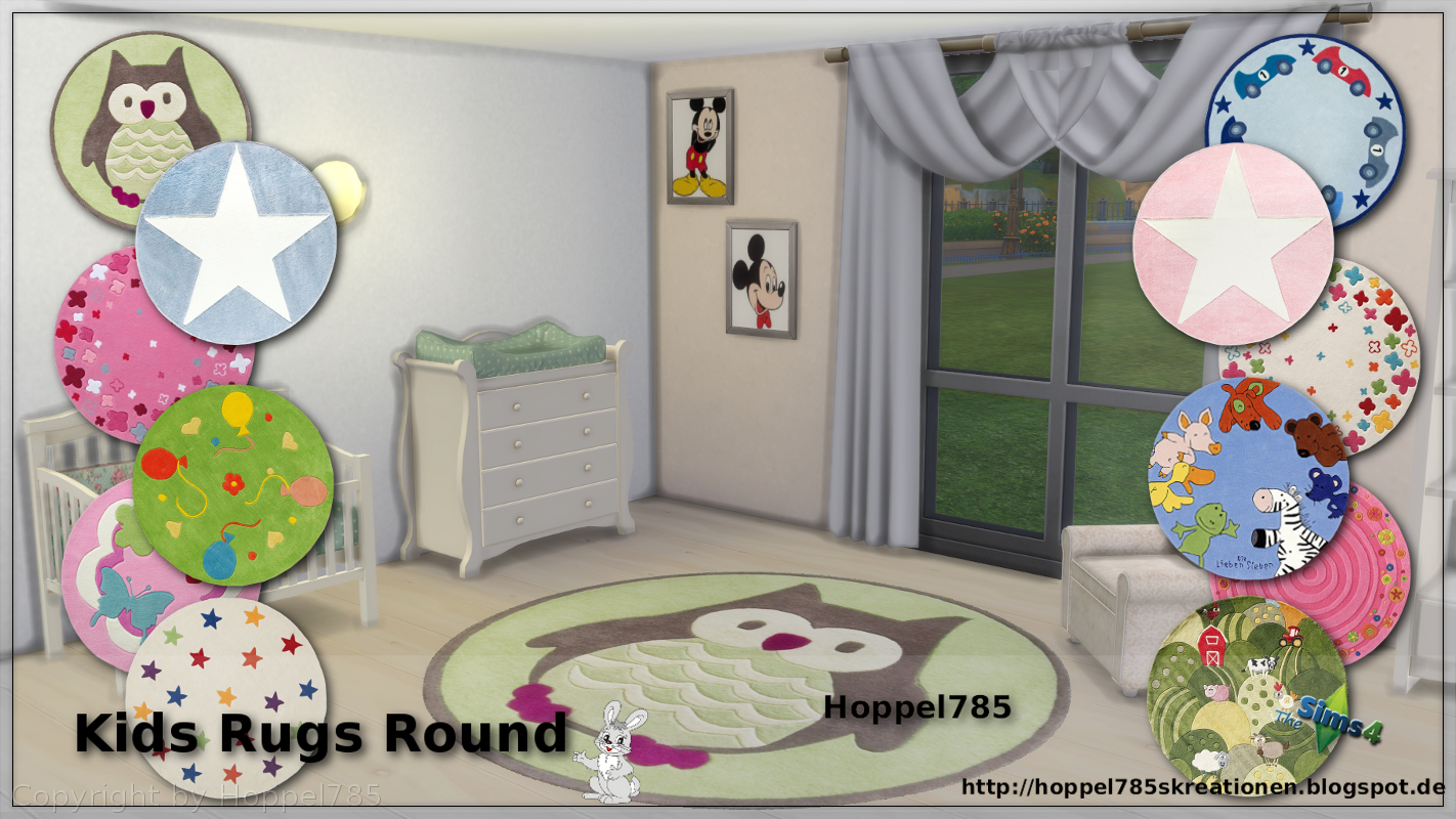 Kid's Round Rugs by Hoppel785