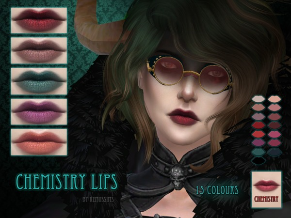 Chemistry Lipstick by RemusSirion