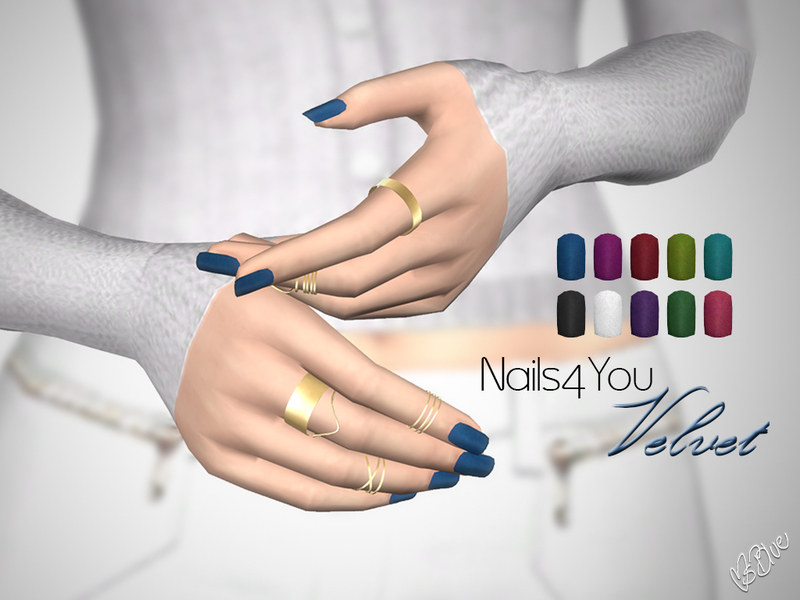 Nails4You Velvet by Ms Blue