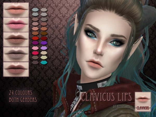 Clavicus Lipstick by RemusSirion