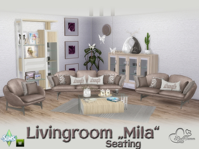 Mila Living Seating by BuffSumm