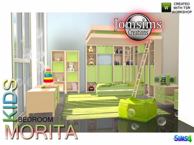 Morita Kids bedroom by JomSims