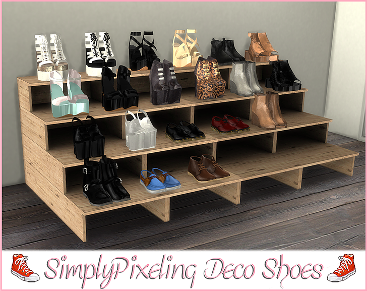 TS3 Deco Shoes Conversion by SimplyPixeling