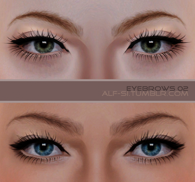 eyebrows 02 by Alf-si