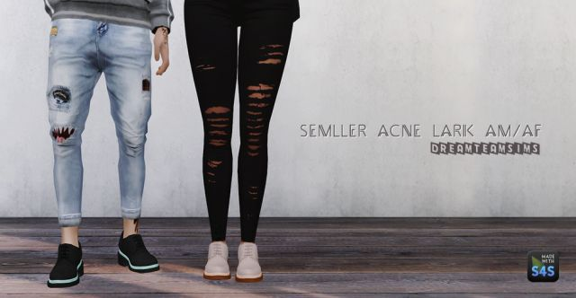 Semller Acne Lark Shoes by DreamTeamSims