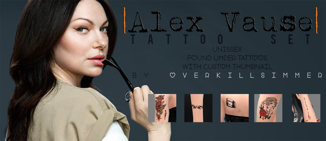 Alex Vauses Tattoos by Overkill Simmer