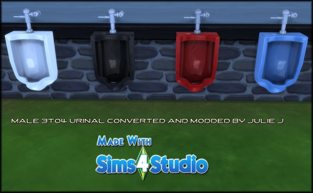 TS3 Urinal Conversion by Julie J
