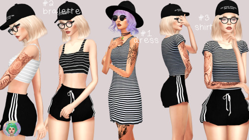 STRIPES!  SET by Twinksimstress
