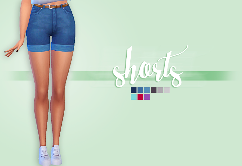 Jeans Shorts by CrazyCupcakefr