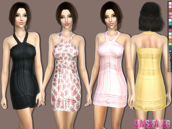 205 - Casual summer dress by sims2fanbg