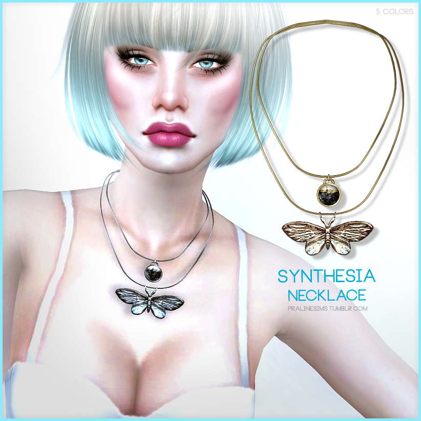Synthesia Necklace by PralineSims