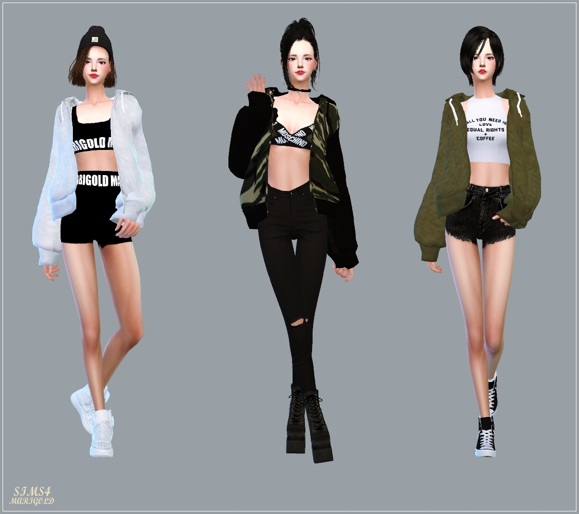 ACC_Loosefit Hood Jacket by marigold