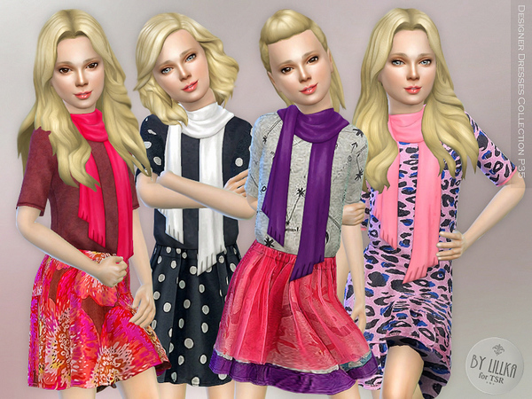 Designer Dresses Collection P35 by lillka