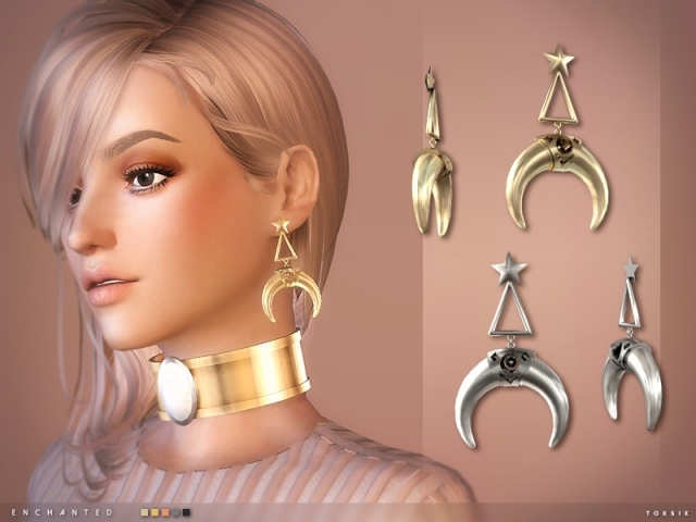 Enchanted Earrings by TokSik