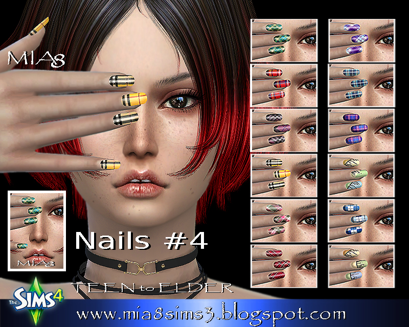 Nails # 4 (Pictures-nails) by Mia8