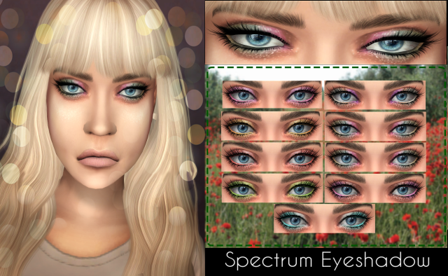 Spectrum Eyeshadow by WhiteCrow