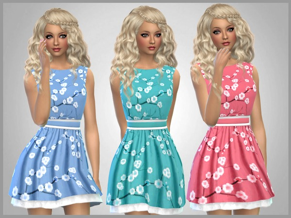 Blossom Print Dress by SweetDreamsZzzzz