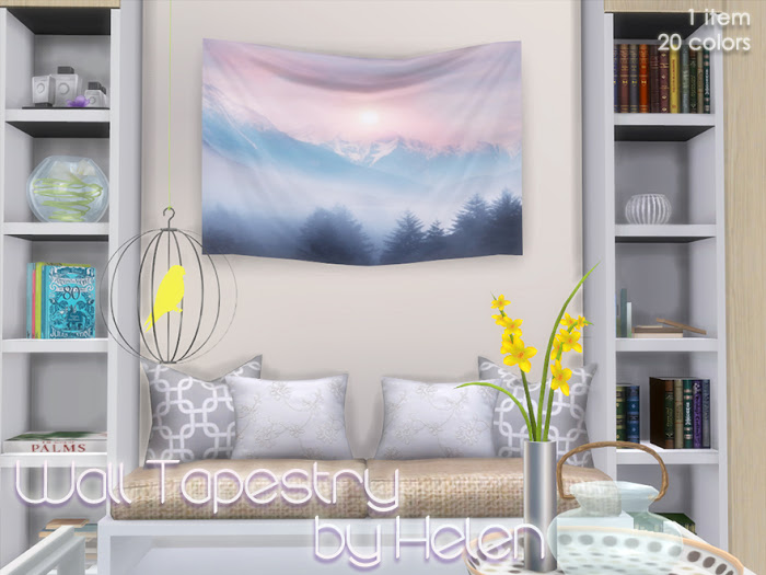 Wall Tapestry by Helen