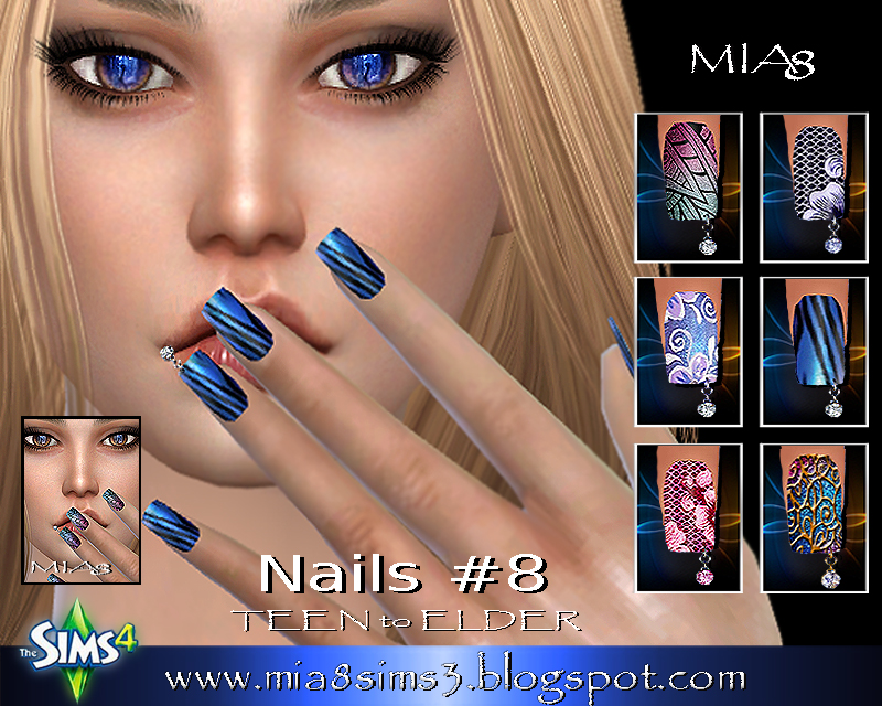 Nails # 8 (Piercing nails) by Mia8