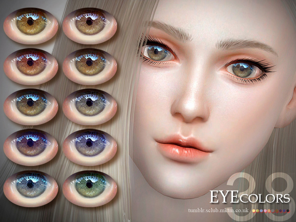 S-Club LL thesims4 Eyecolor 38