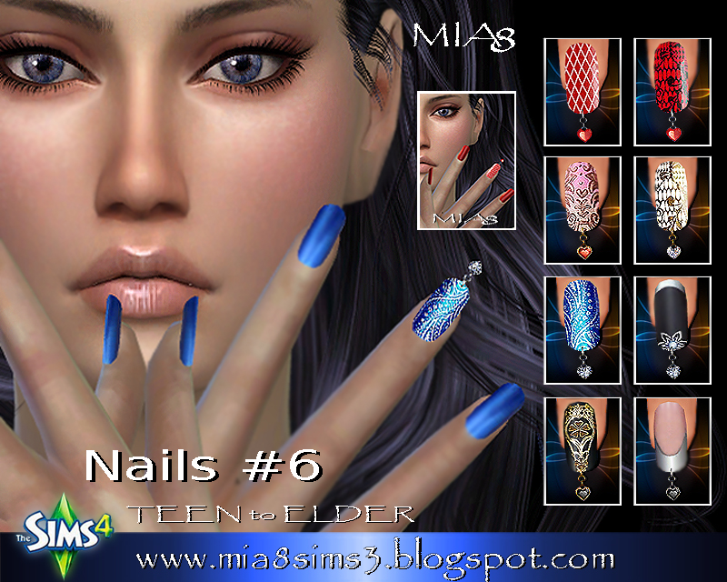 Nails # 6 (Piercing nails) by Mia8