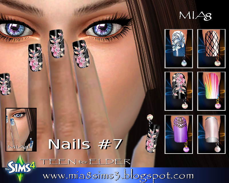 Nails # 7 (Piercing nails) by Mia8