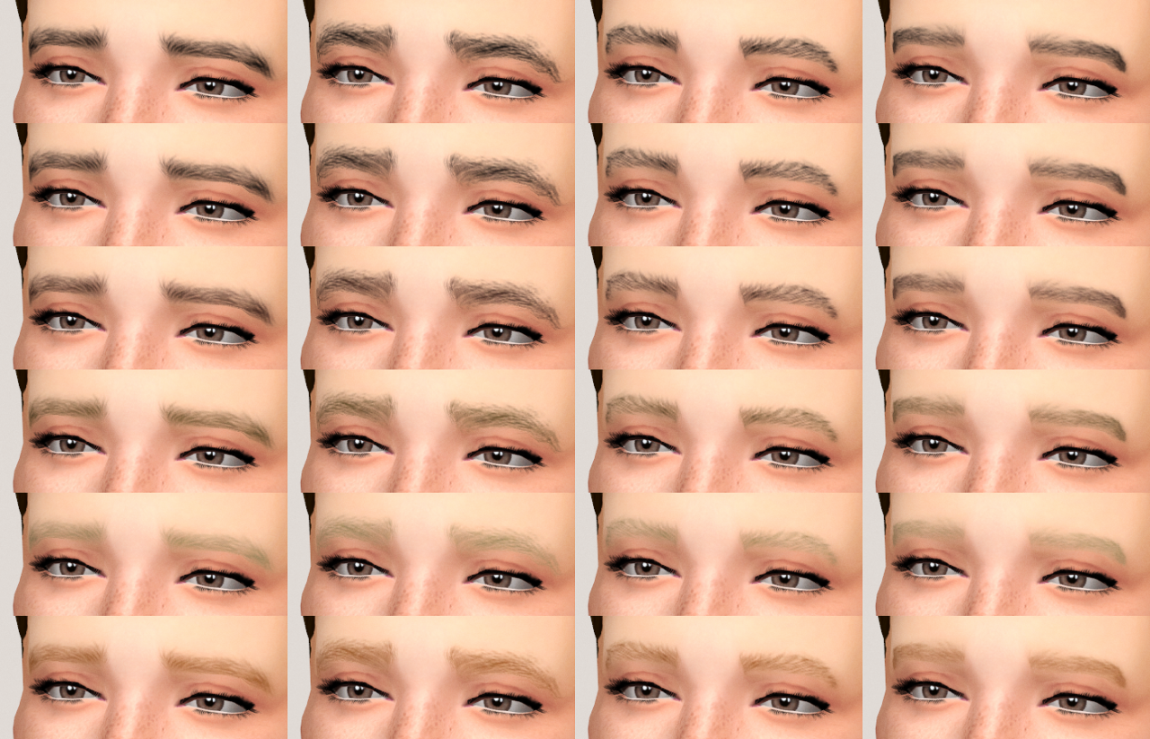 Eyebrows by Reticulates